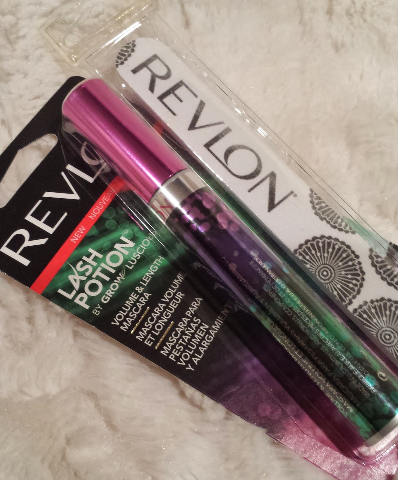 Revlon mascara and nail file