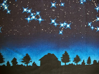 night sky fabric