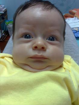 Samuel com dois meses