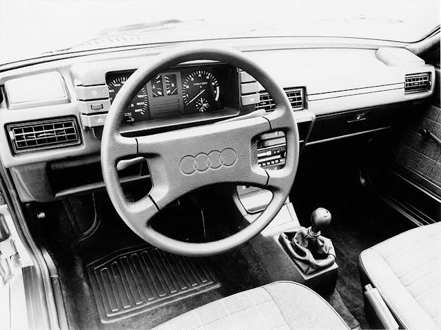 Audi 80 de segunda geração - anos 80