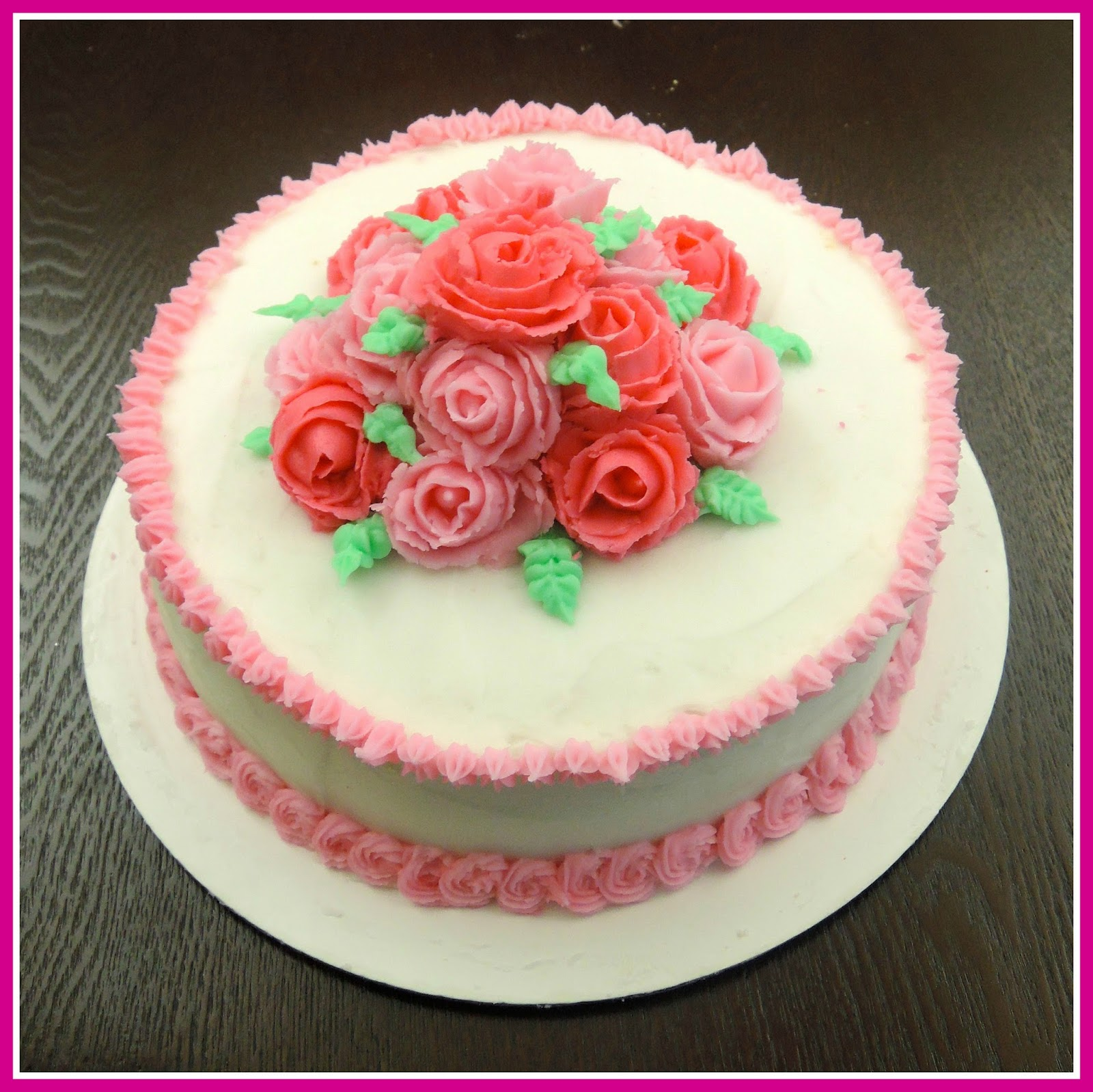 Wiltons Course 1 Cake