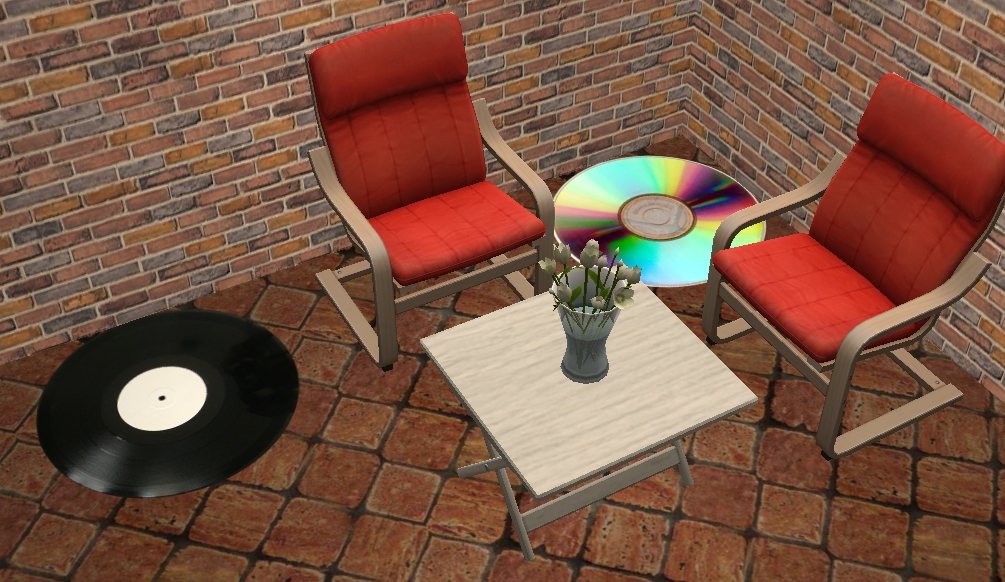 Theninthwavesims The Sims 2 Compact Disc And Vinyl