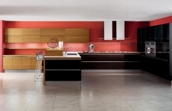Dise o de cocinas modernas por veneta cucine for Diseno de cocinas contemporaneas