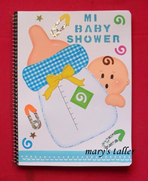 Manualidades y novedades cuadernos decorados - Novedades para baby shower ...