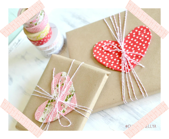 WASHI TAPE PACKAGING / EMPAQUETADO DE REGALOS CON WASHI TAPE