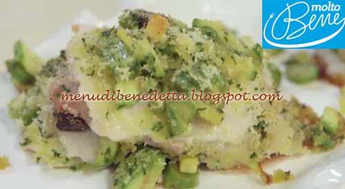 Saltimbocca di mare ricetta Parodi per Molto Bene su Real Time