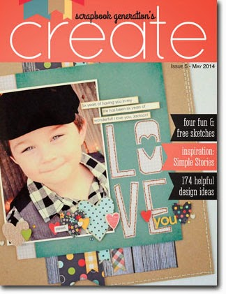 create magazine by Scrapbook Generation