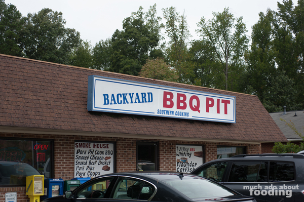 Backyard BBQ Pit Came Up, And We Were Really Drawn To Its Old School  Cafeteria Like Arrangement. Sometimes Those Holes In The Wall Are The Best  Places To ...