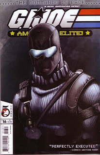 Front cover of G.I. Joe #16 from Devil's Due Publishing