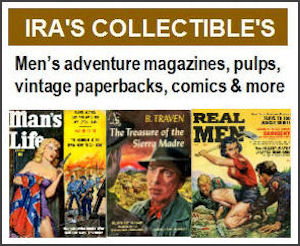 Ira's Collectibles - Recommended by MensPulpMags.com