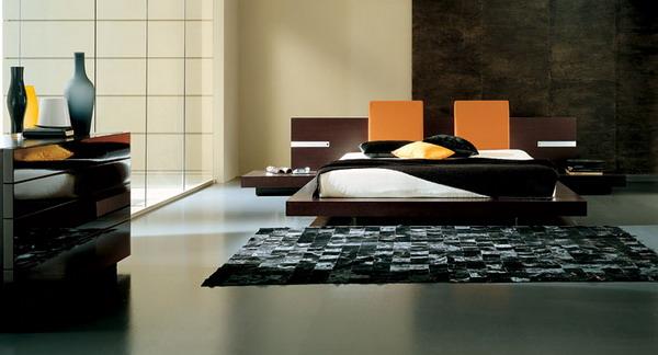 Camas en el piso al estilo oriental decoracion de salas - Camere da letto stile orientale ...