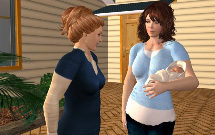 Games giving birth online