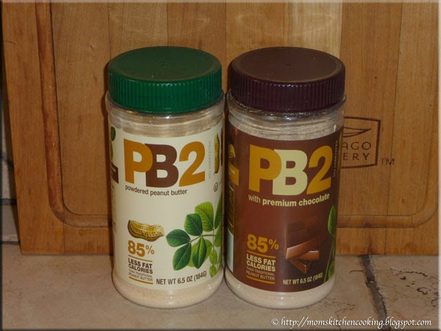 PB2 all natural powdered peanut butter