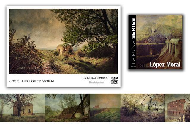 entrefotos, art Photo, Burgos, La ruina, Lopez Moral, Libro de artista, photobook, ventas de fotografia, libro de fotografia