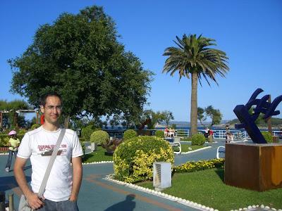 Piquio gardens in Santander