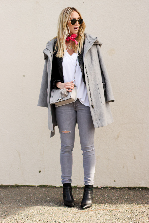 skinny jeans booties street style blogger