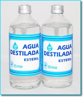 Donde venden agua destilada