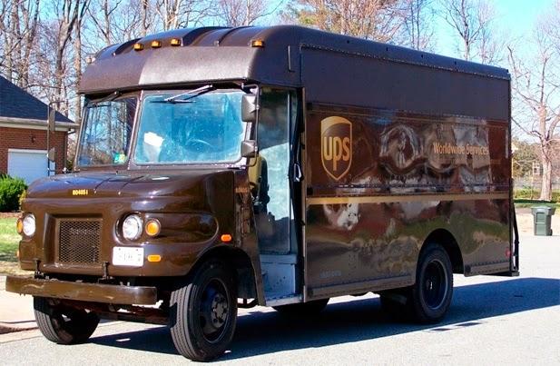 Camión de UPS