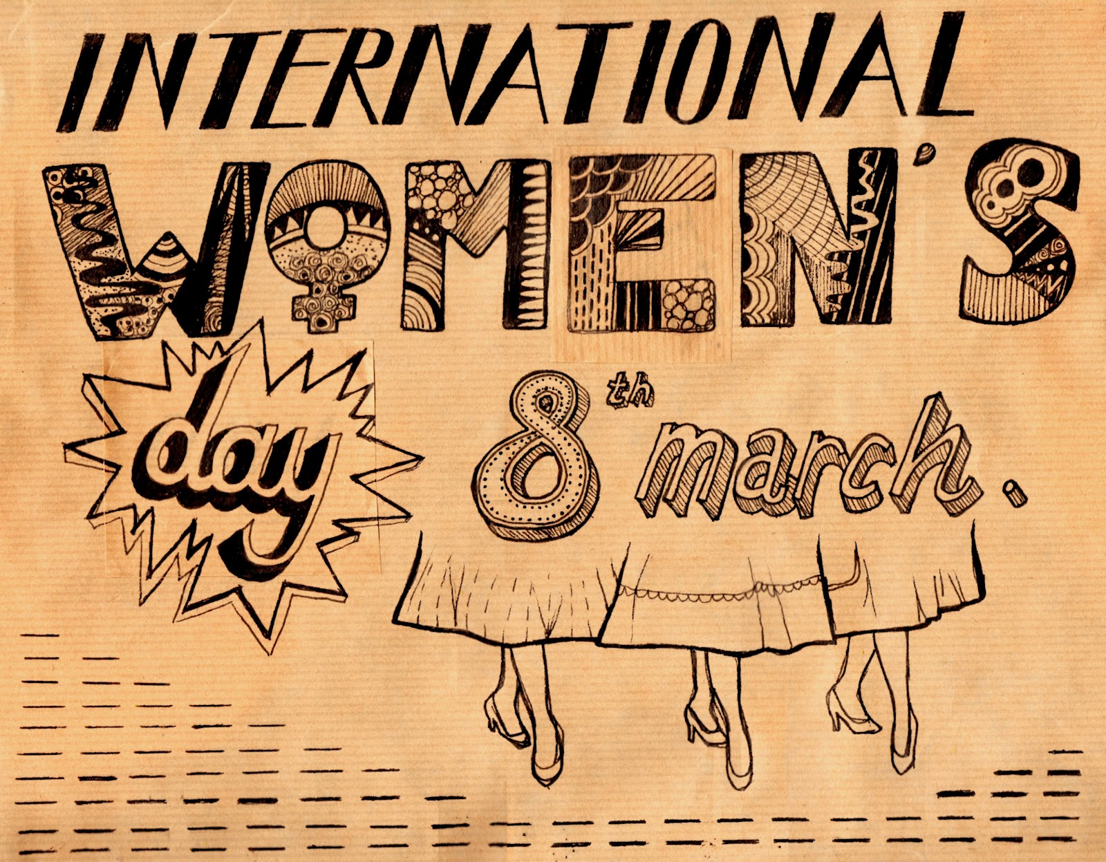 Clarence Illustration: International Women's day posters