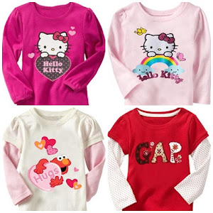 (ADD NEW!!) 2012 GAP LONG SLEEVE FOR GIRLS !!!