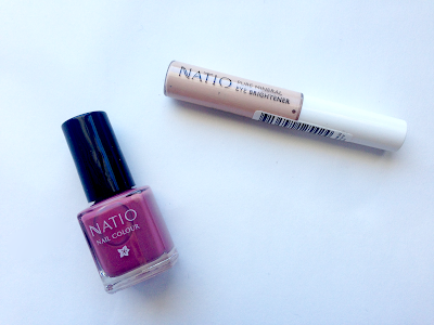 natio warehouse sale, review, thoughts, photos, twoplicates, beauty, blog, nail polish, mauve, eye brightener