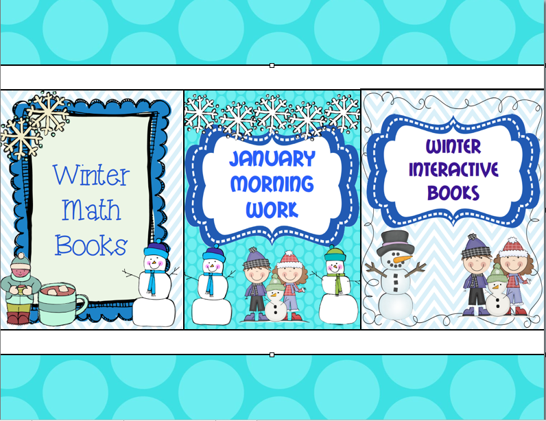 http://www.teacherspayteachers.com/Product/Winter-Activities-Bundle-468988