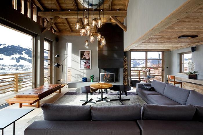 Hogares Frescos: Diseño Interior del Chalet de Lujo Cyanella en los ...