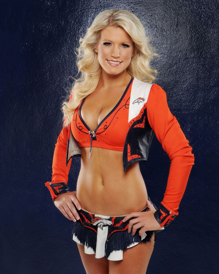 Sexy bronco cheerleaders nude was