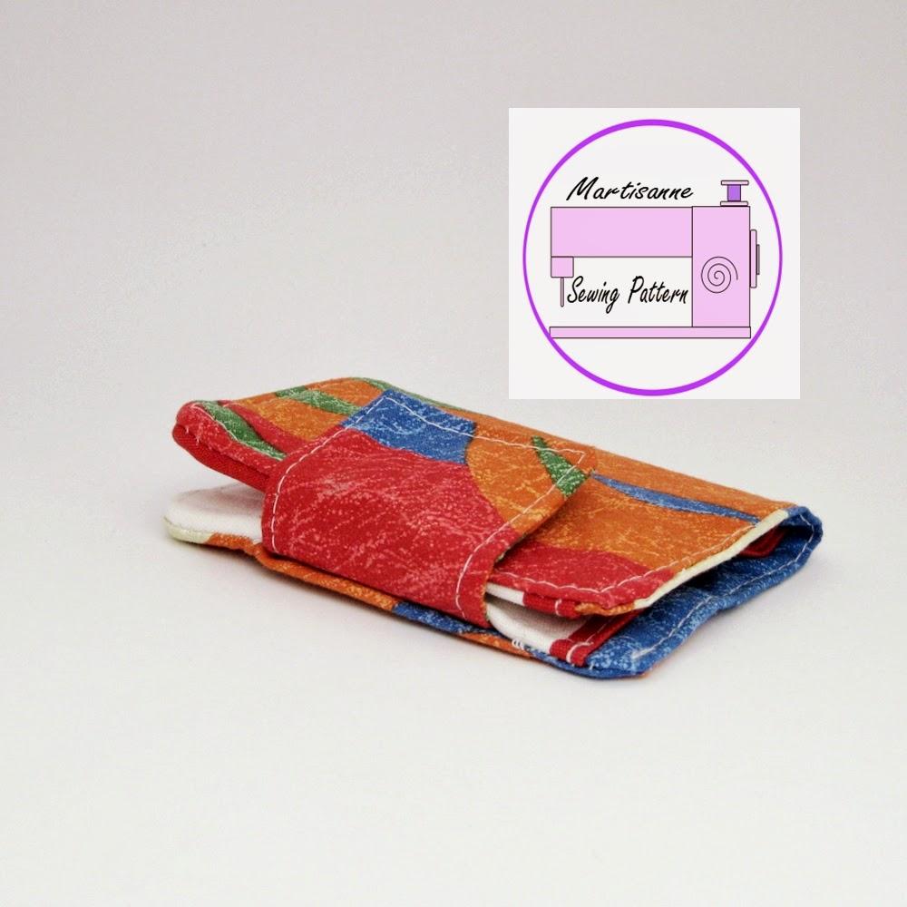 Martisanne Handmade: Card Wallet Free Easy Sewing Tutorial