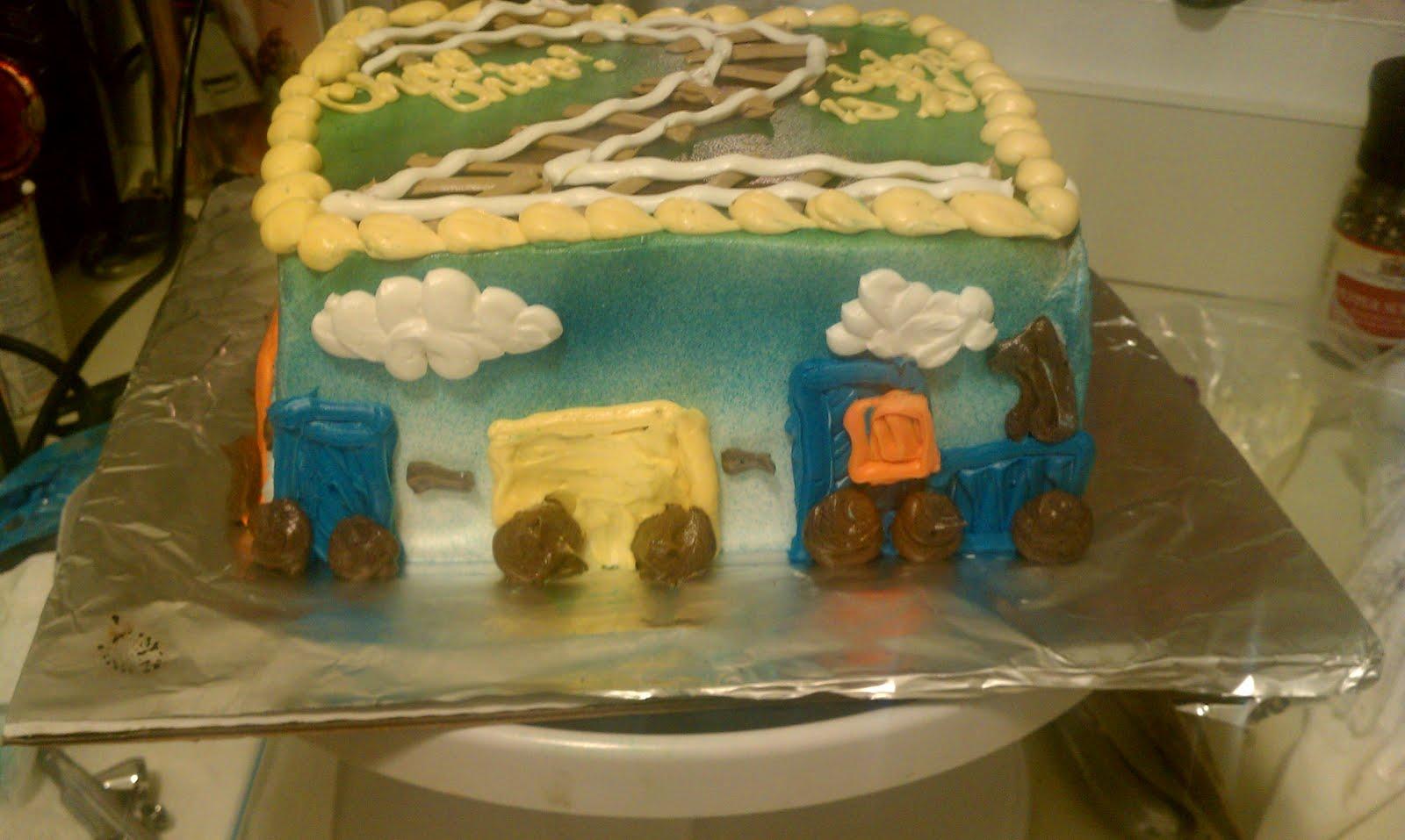 Freelance Frosting Baby Jakes second birthday cake
