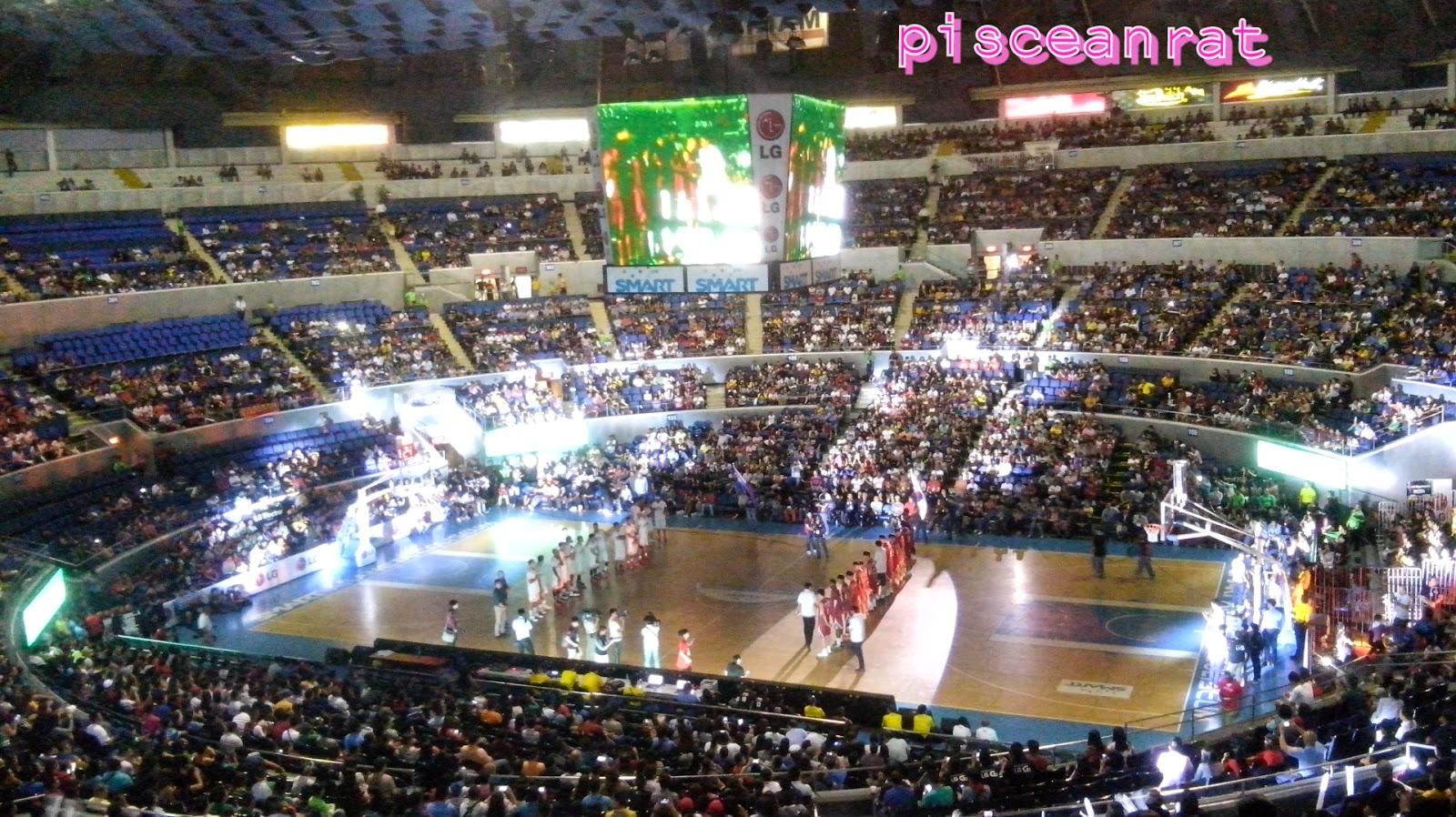 araneta coliseum barangay ginebra