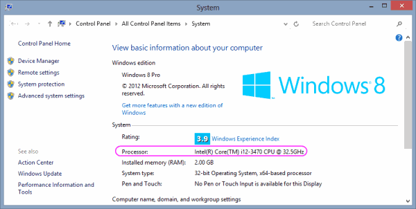 How to change processor name permanantly