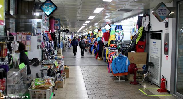 Estación de Dongdaemun del metro de Seúl