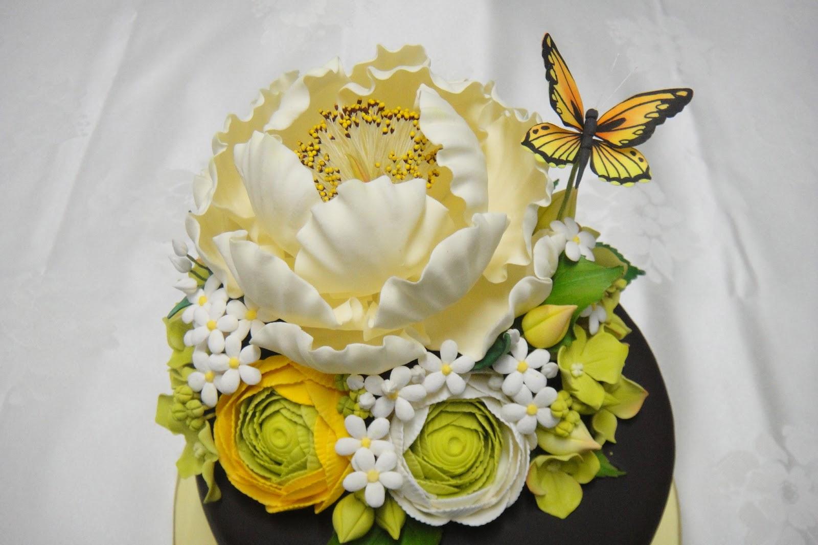 Cake Expressions Sugarcraft 3 Days Basic Gumpaste Class Inspired