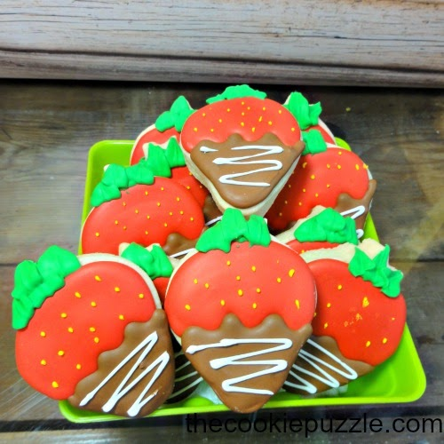 Chocolate Covered Strawberry Cookies