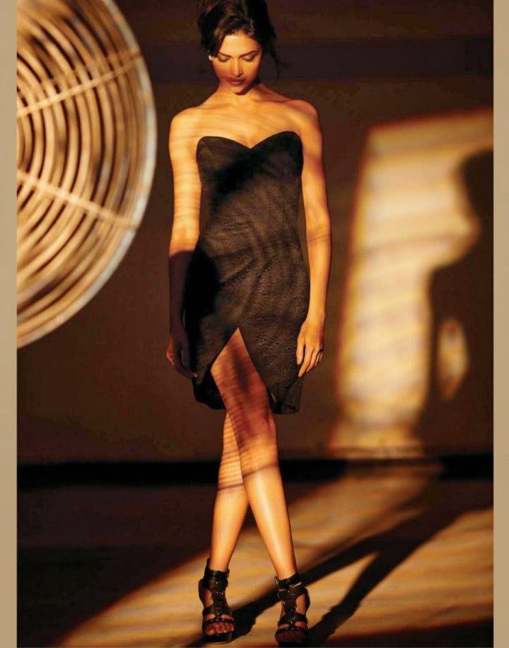 Deepika Padukone's Hot leg show in mini skirt underwear visible black bra panty upskirt pics