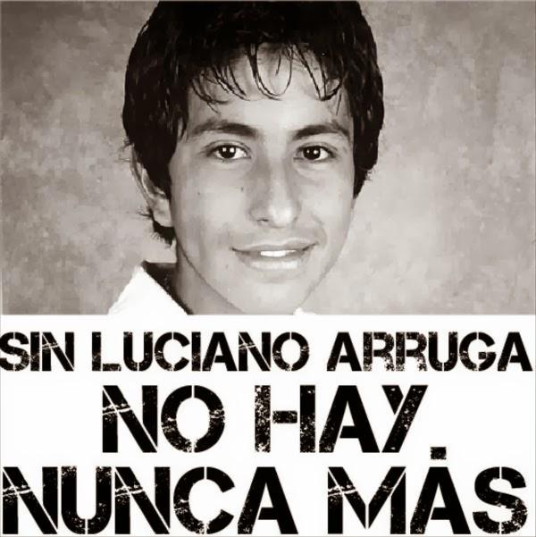 Sin Luciano Arruga no hay NUNCA MÁS
