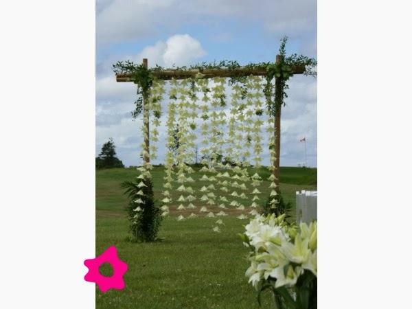 Arcos de Bodas con Flores, parte 1