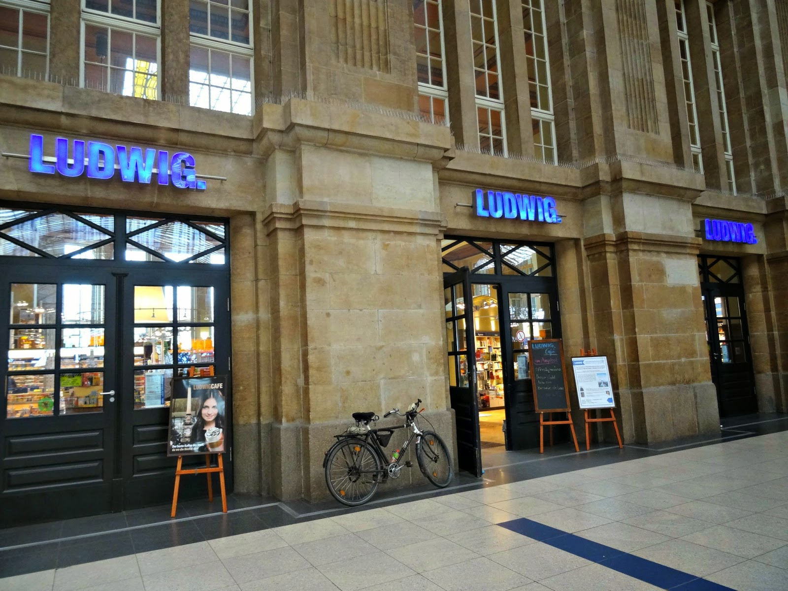 Ludwigs at leipzig Train Station
