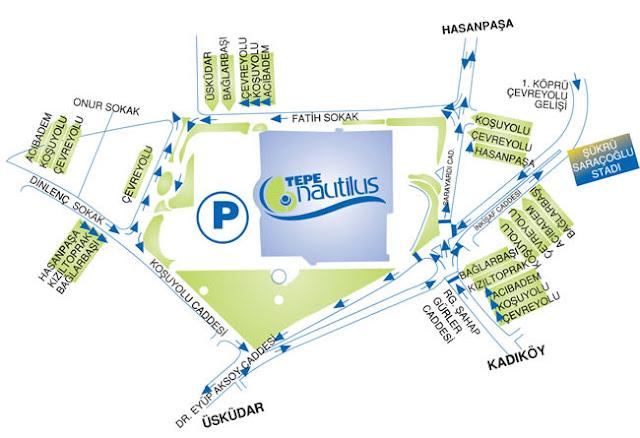 نبذه عن مجمع تيبي نوتيلوس التجاري في اسطنبول الآسيوية