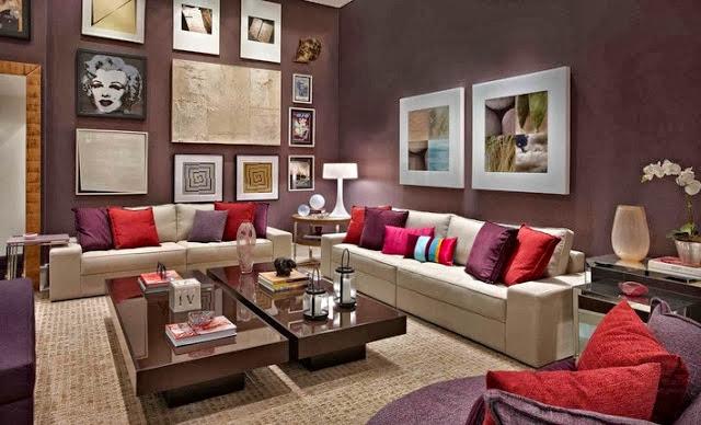 Como Colocar Quadros Na Sala De Tv ~  Minha Casa Clean Quadros na Decoração!!! Como Dispor na Parede