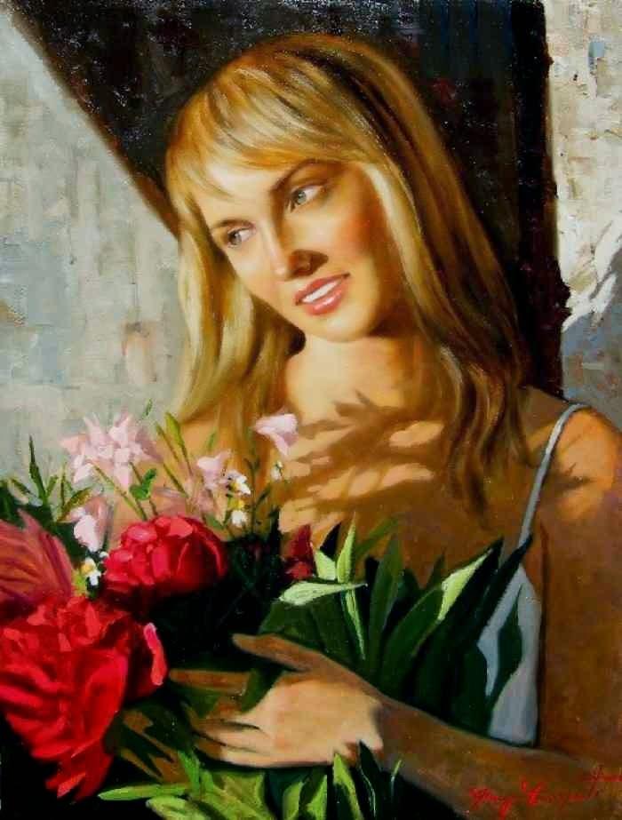 Итальянский художник. Giuseppe Cacciapuoti