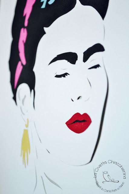 Paper cut di Frida Kahlo, particolare 02