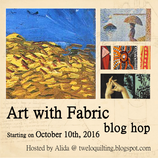 Join me at the Art With Fabric Blog Hop!