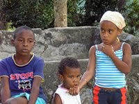 CHILDREN IN THE SIERRA MAESTRA