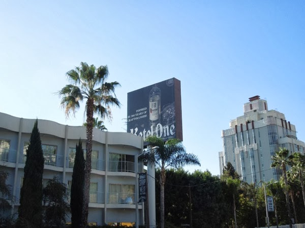 Ketel One Vodka billboard Sunset Strip