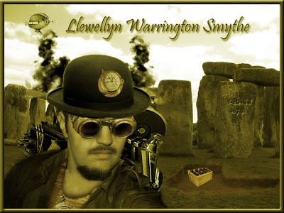 Steampunk archaeologist