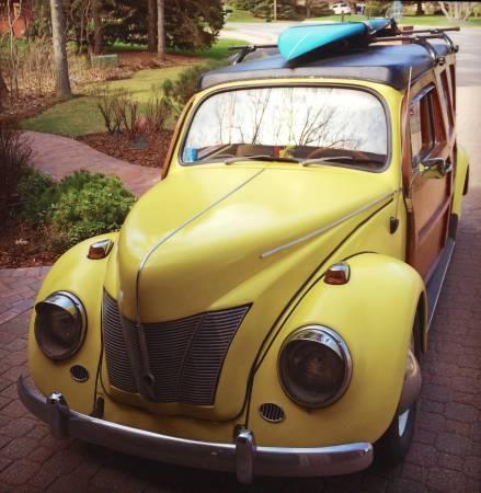 daily turismo holzwagen  volkswagen beetle custom woodie