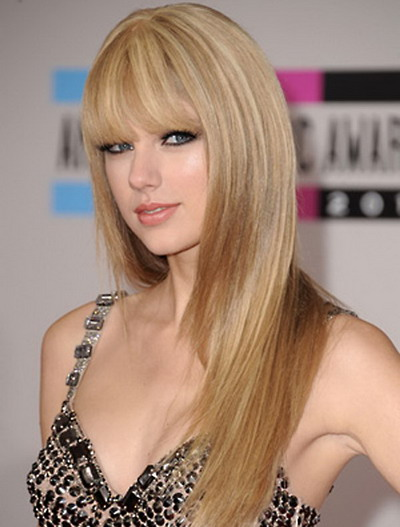 Long Hairstyles Women 2013 with Bangs