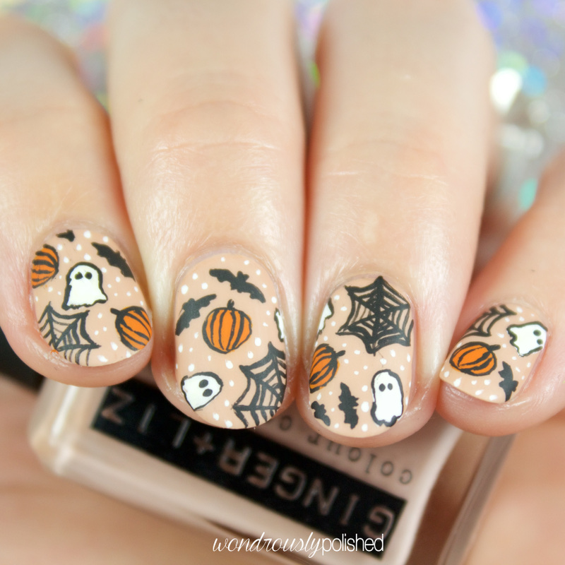 Wondrously Polished: 40 Great Nail Art Ideas - Halloween